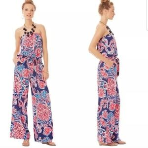 Lilly Pulitzer (Large) Strapless Jumpsuit